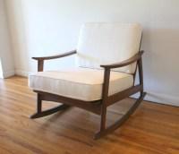 Mid Century Modern Rocker Chair | Picked Vintage