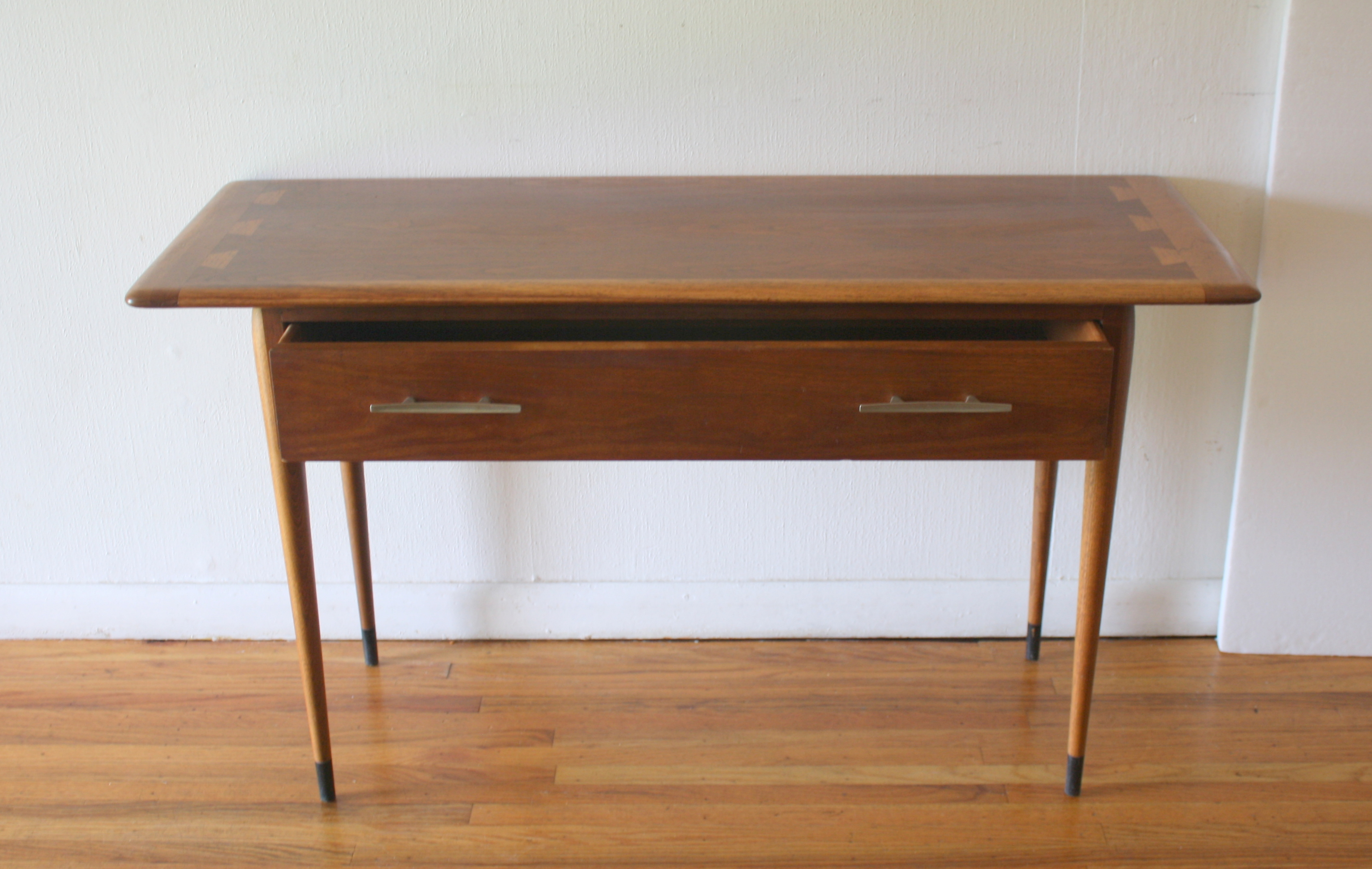 vintage lane sofa table furniture designs mid century modern acclaim console picked