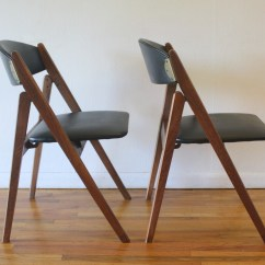 Coronet Folding Chairs Teal Recliner Chair Mid Century Modern By Picked Vintage Mcm Pair Of 1