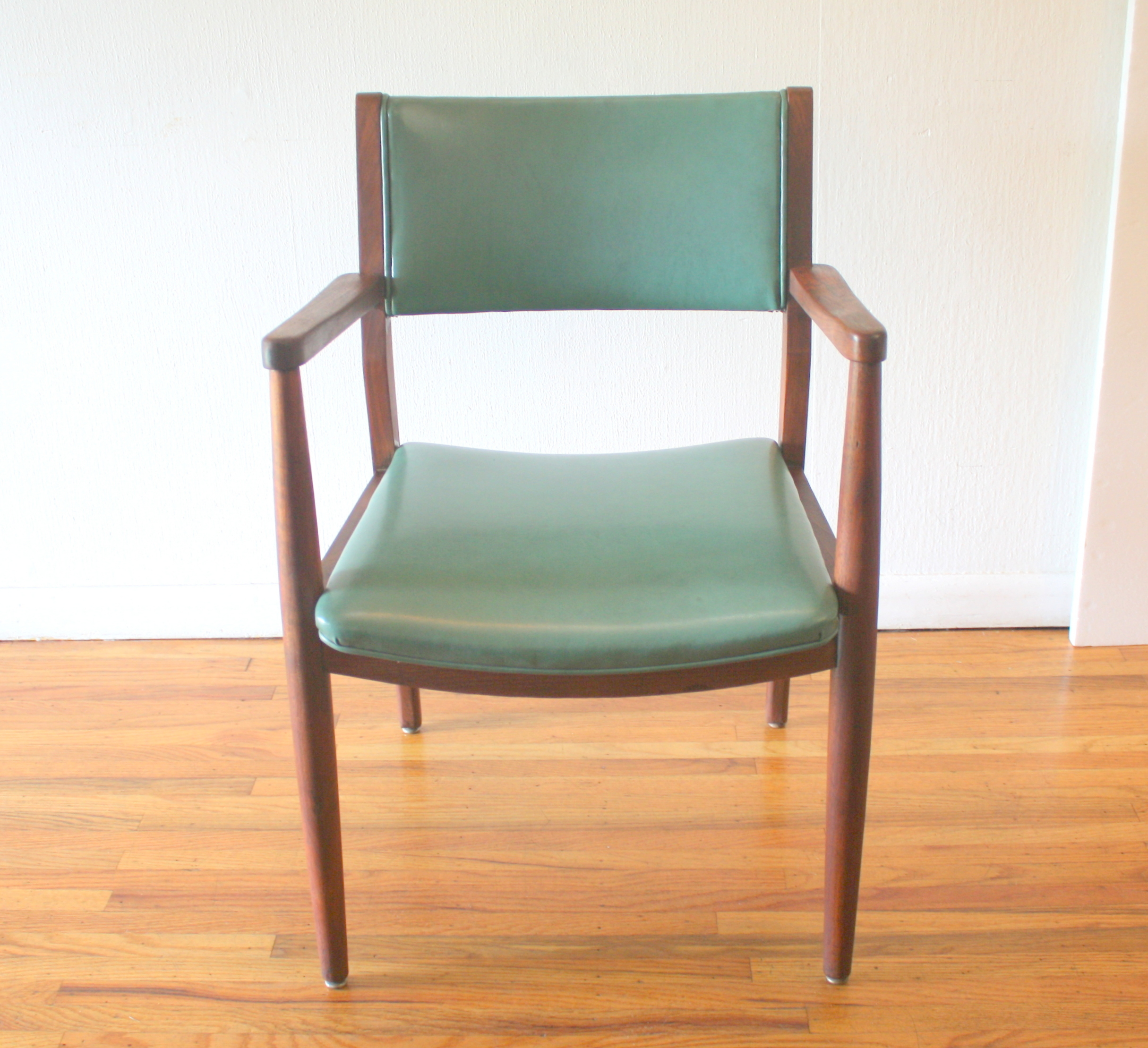 turquoise lounge chair antique wicker chairs uk picked vintage mcm arm 1