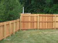 07-4 ft and 6 ft combined privacy fence in Columbus ...