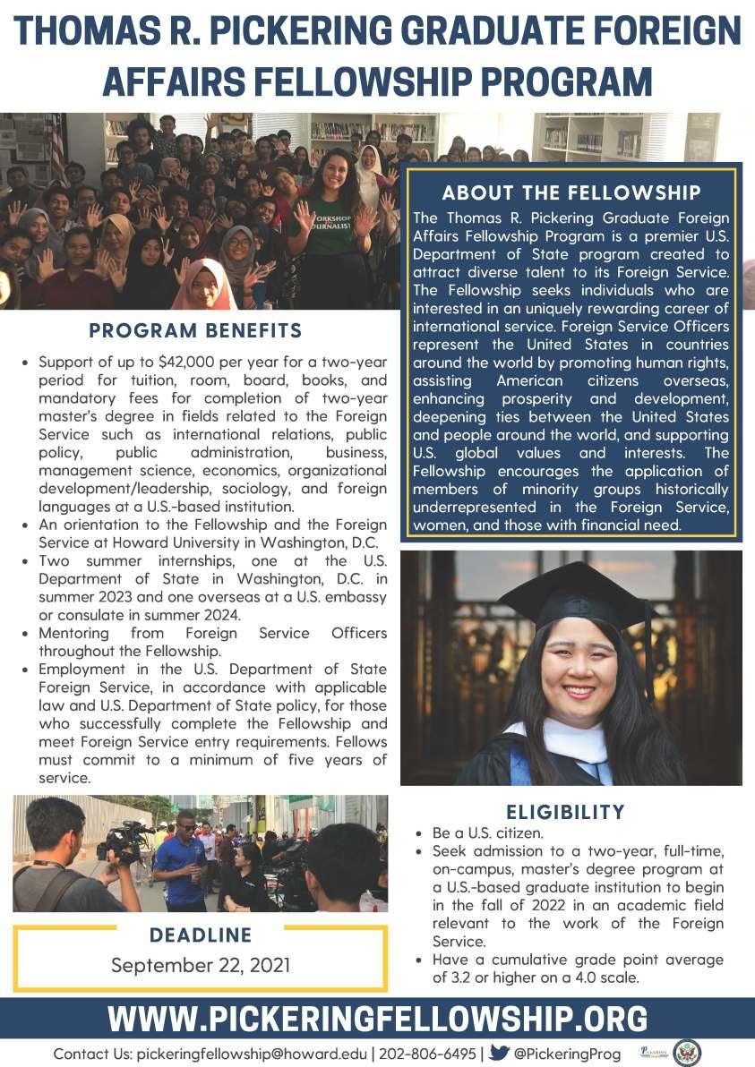 2022 Promotional Flyer - Pickering Fellowship