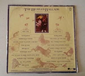 The Beatles Ballads Back