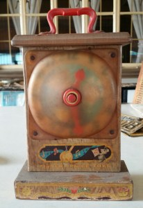 fisher price toy clock front