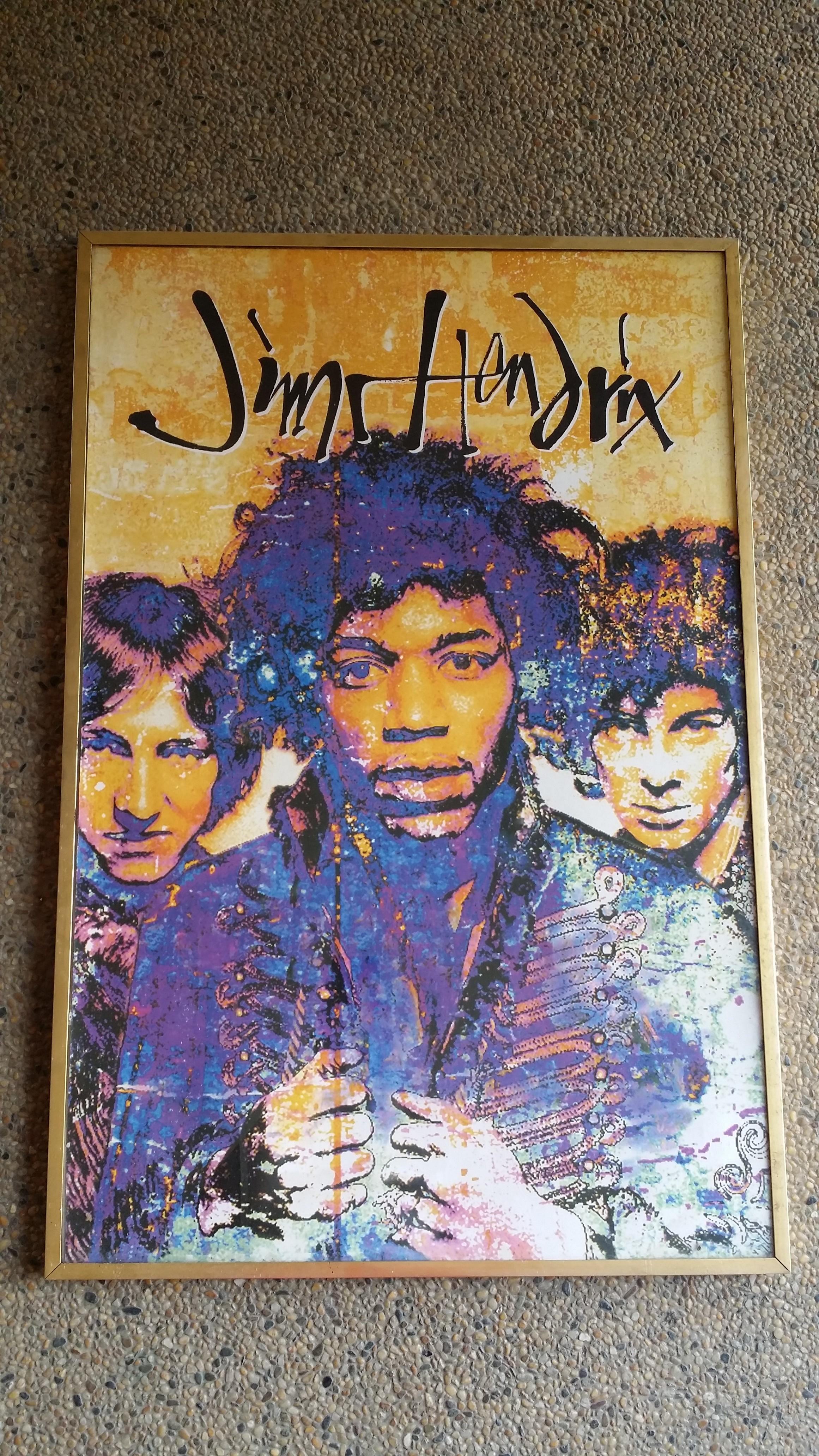 Jimi Hendrix Poster 1