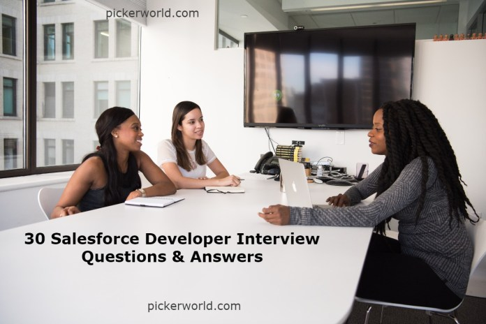 30 Salesforce Developer Interview Questions & Answers