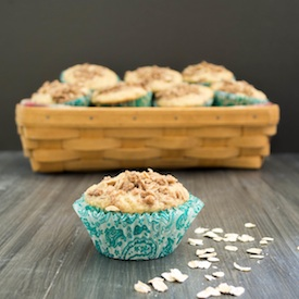 Wholesome Oatmeal Muffins