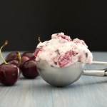 Fresh Cherry Frozen Yogurt