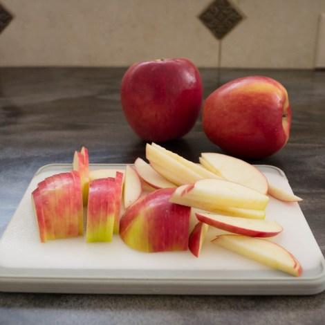 Apple Quesadilla