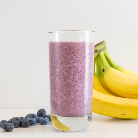 Blueberry Banana Smoothie-3