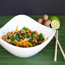 Chili Lime Asian Rice Noodles