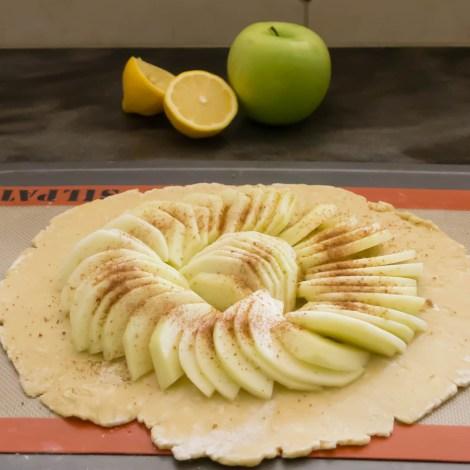Fresh Apple Galette-