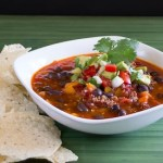 Vegetarian Black Bean Chili-