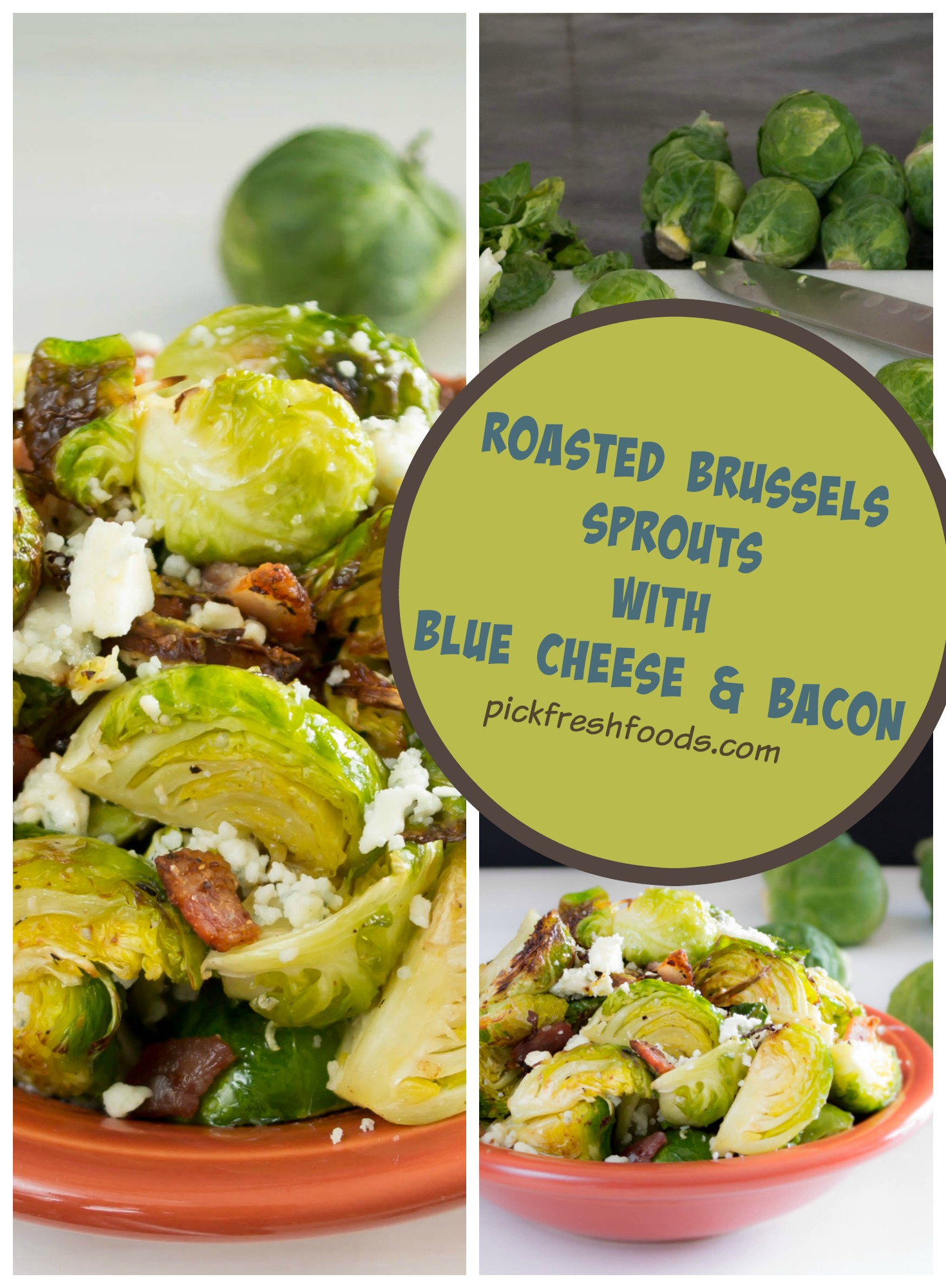 blue cheese brussel sprouts
