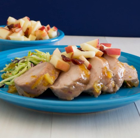 Glazed Pork with Apple Salsa | Pick Fresh Foods