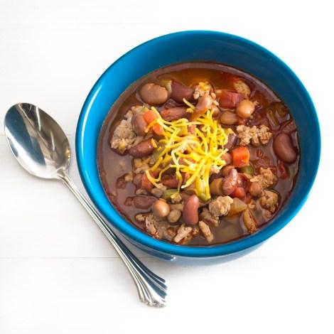 Three Bean Turkey Chili | Pick Fresh Foods