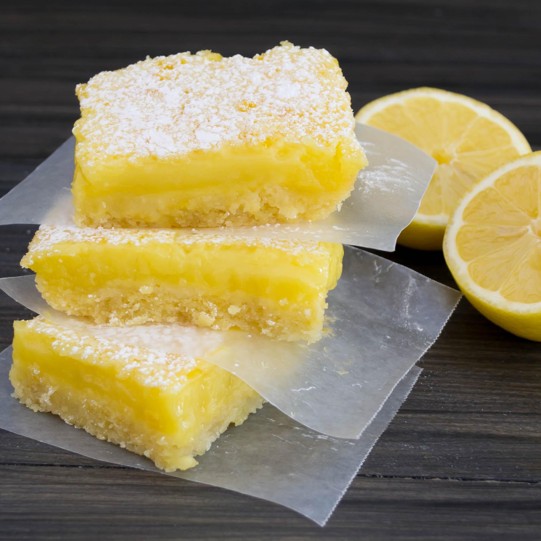 Lemon Bars With White Cake Mix
