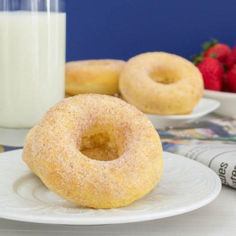 Cinnamon Sugar Yogurt Donuts | Pick Fresh Foods