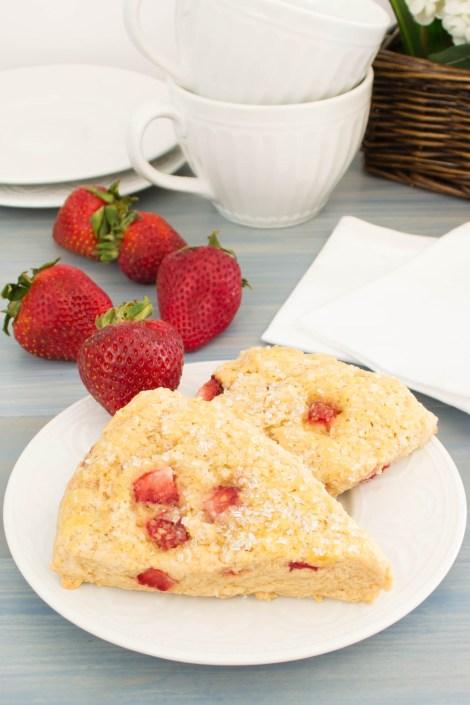 Strawberry Scones | Pick Fresh Foods