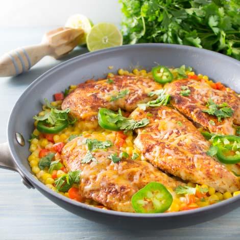 Mexican Chicken Skillet Dinner | Pick Fresh Foods