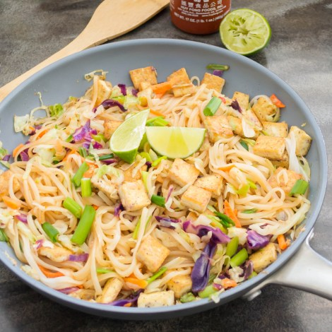 Spicy Asian Noodles with Tofu