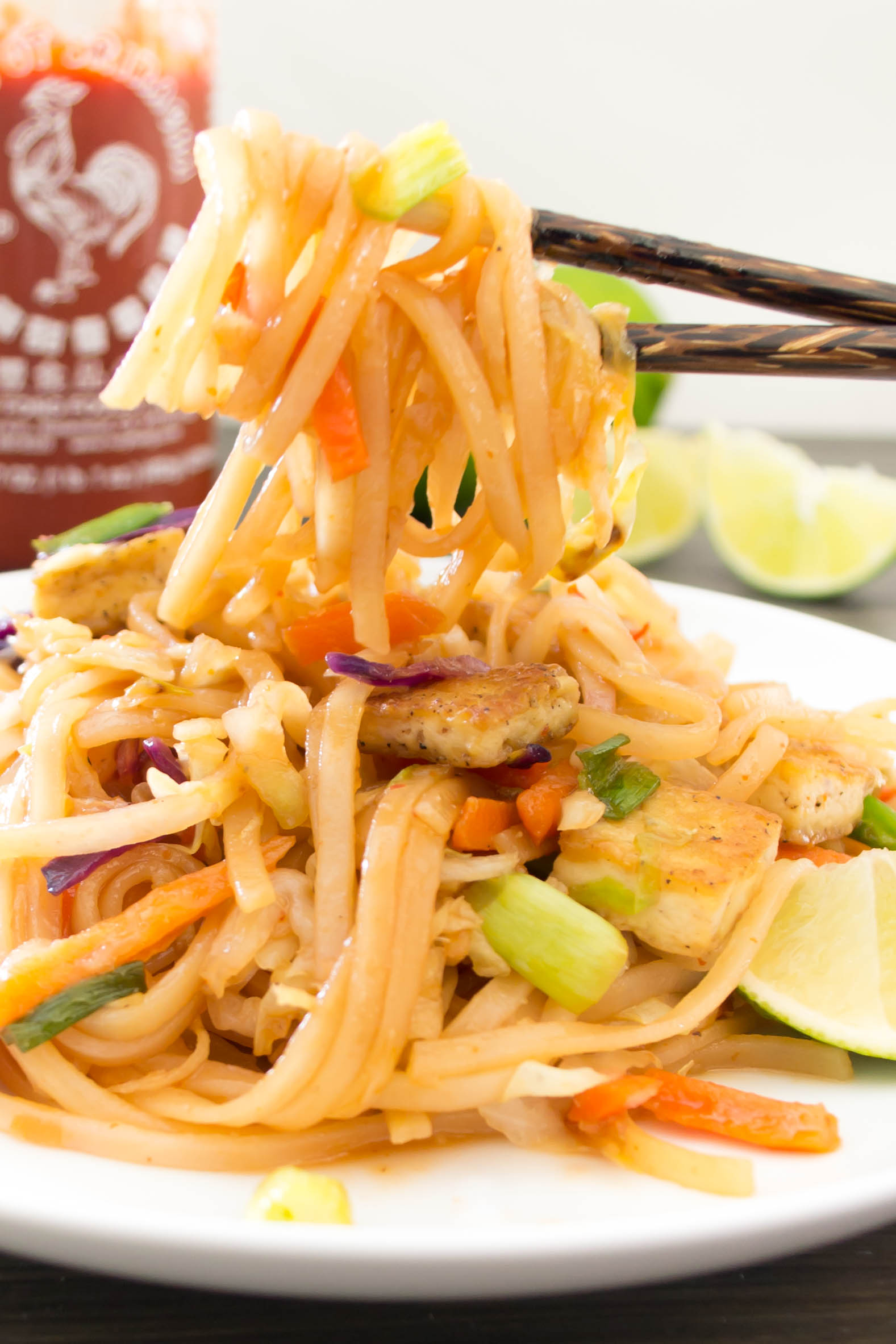 This Spicy Asian Noodle dish is sophisticated and flavorful. The ...