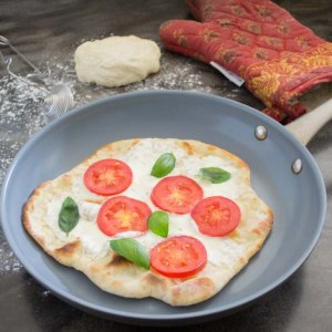 Skillet Margherita Pizza-10