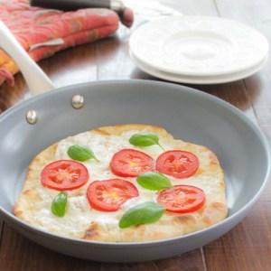 Skillet Margherita Pizza