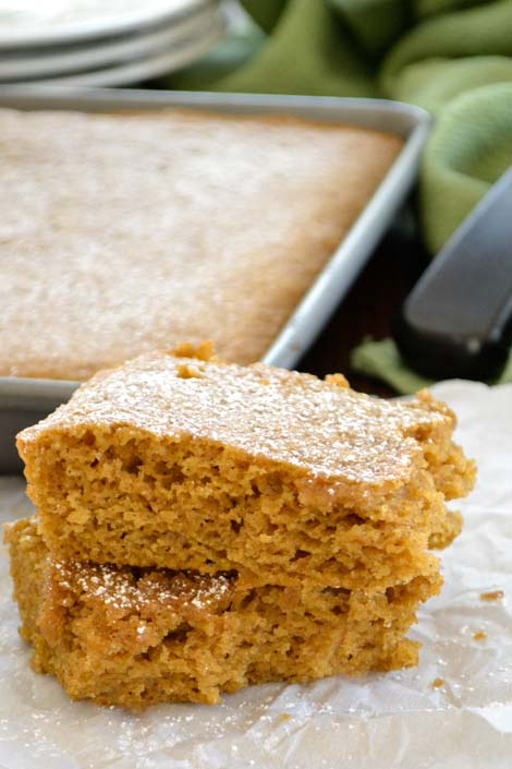 Easy Pumpkin Bar Recipe With Cake Mix