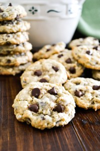Oatmeal Chocolate Chip Cookies-7