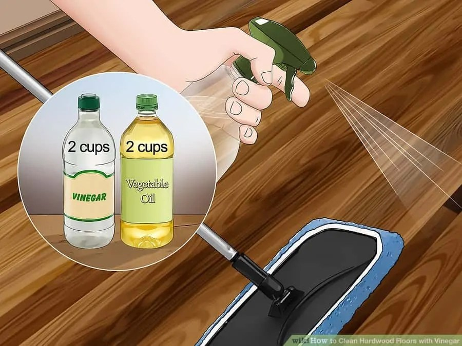 How To Clean Hardwood Floors With Vinegar Bona Products Or Naturally