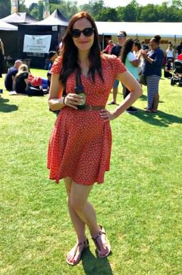 Louche Tea Dress, 99p used, originally £55