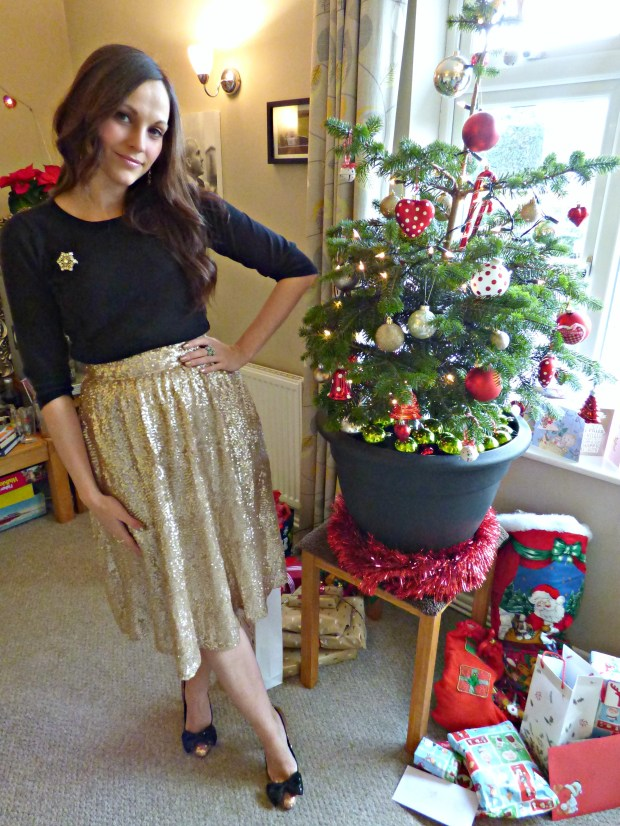 outfit christmas day picking