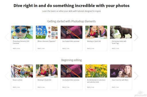 Adobe Photoshop Elements Tutorials