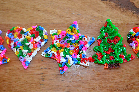 fusible bead christmas decorations