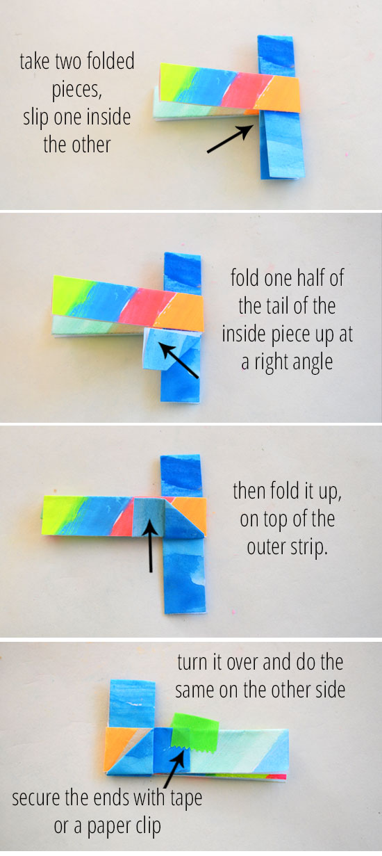 diagram origami bracelet marine batteries how to make folded paper bracelets picklebums this lovely