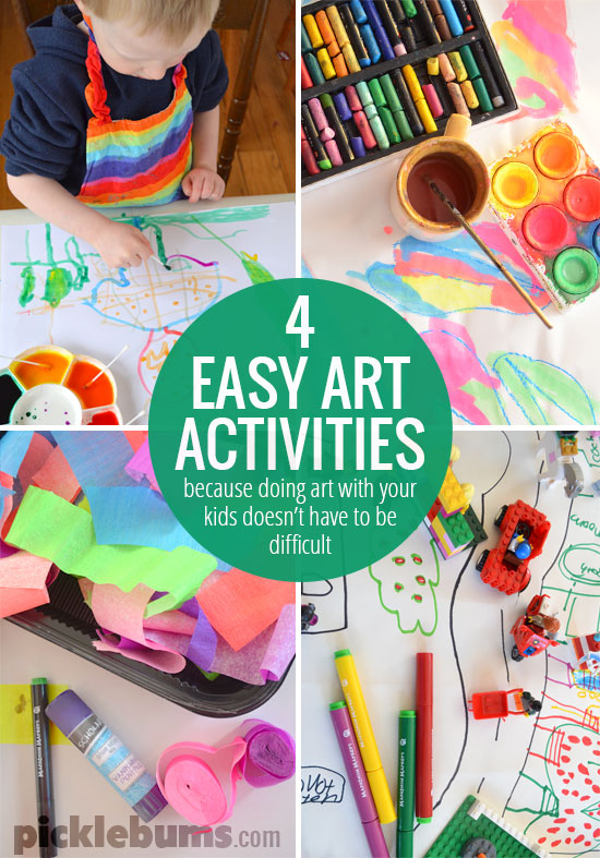 Art And Craft Ideas Kids Make