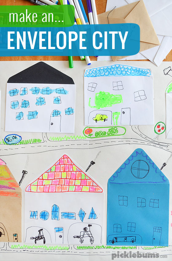Make An Envelope City Picklebums