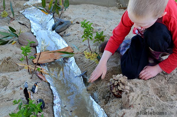 Bridge Made Out Sand