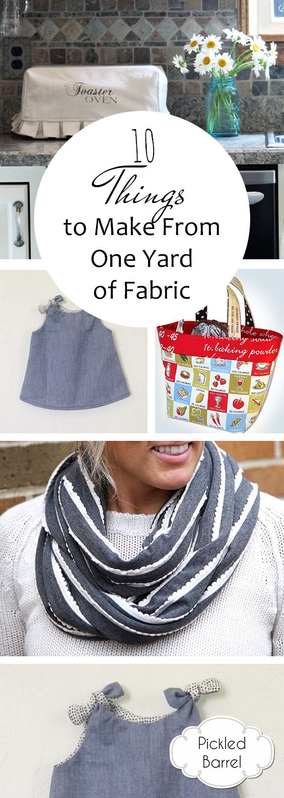 10 Things to Make From One Yard of Fabric – Pickled Barrel