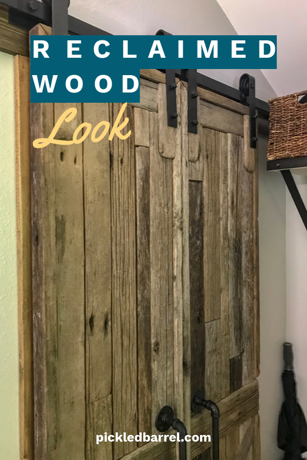 Decor Ideas For The Handmade Reclaimed Wood Look – Pickled ...