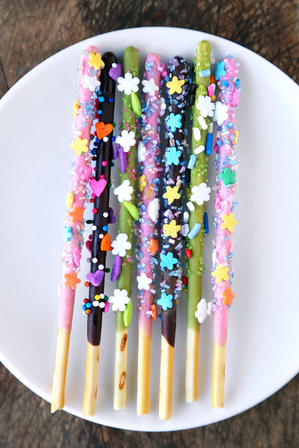Pocky Sticks  How to Decorate  Pickled Plum Food And Drinks