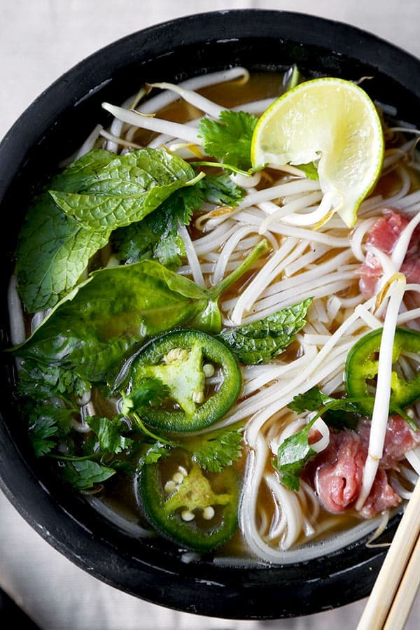 Easy Beef Pho Soup Recipe  Ph B  Pickled Plum Food And