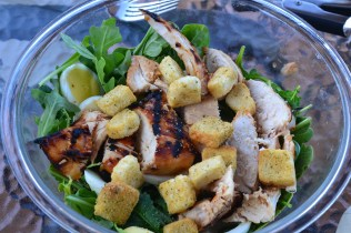 grilled chx salad
