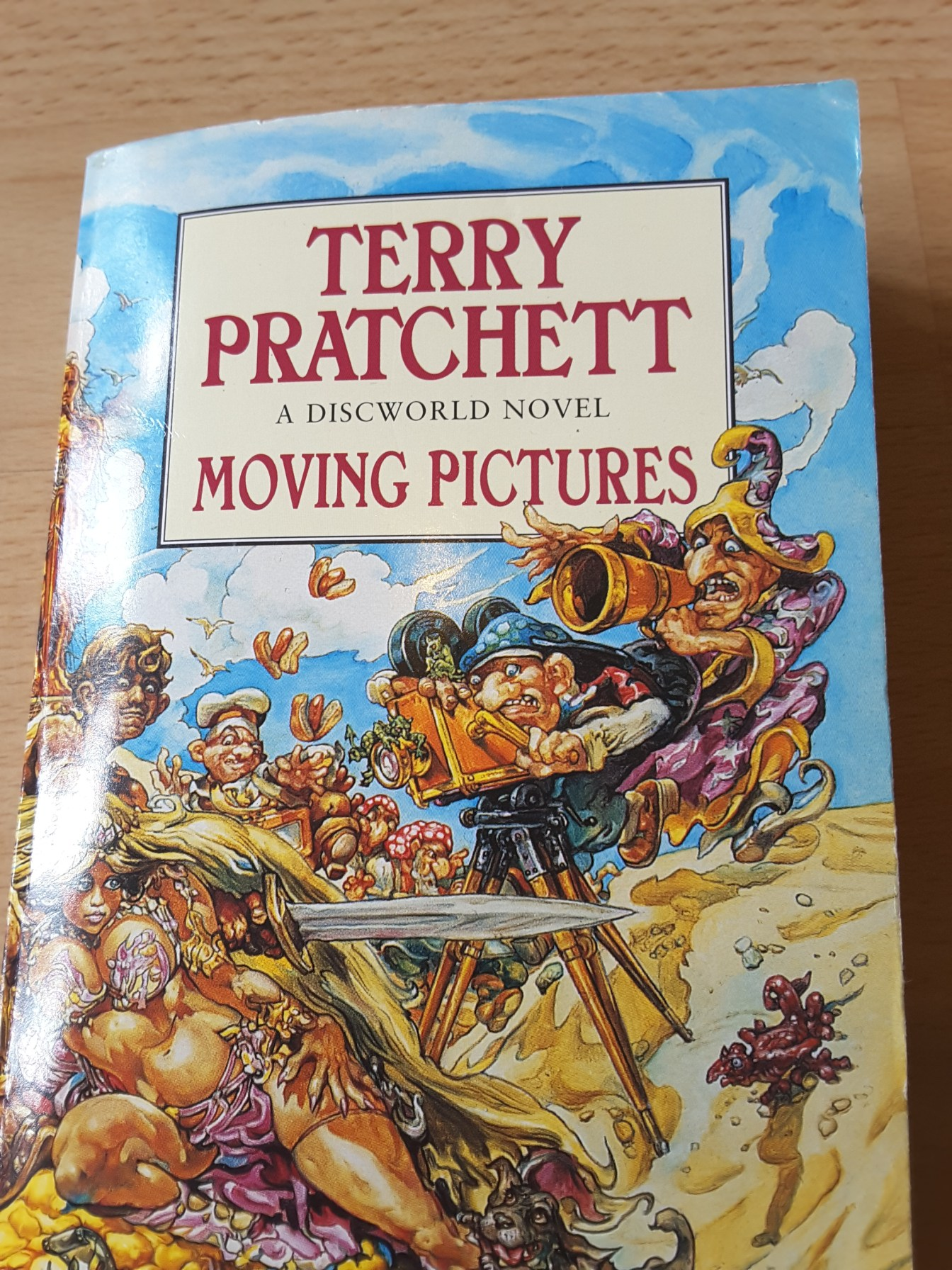 Moving Pictures book
