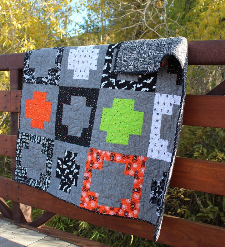 Halloween quilts for the Kids'