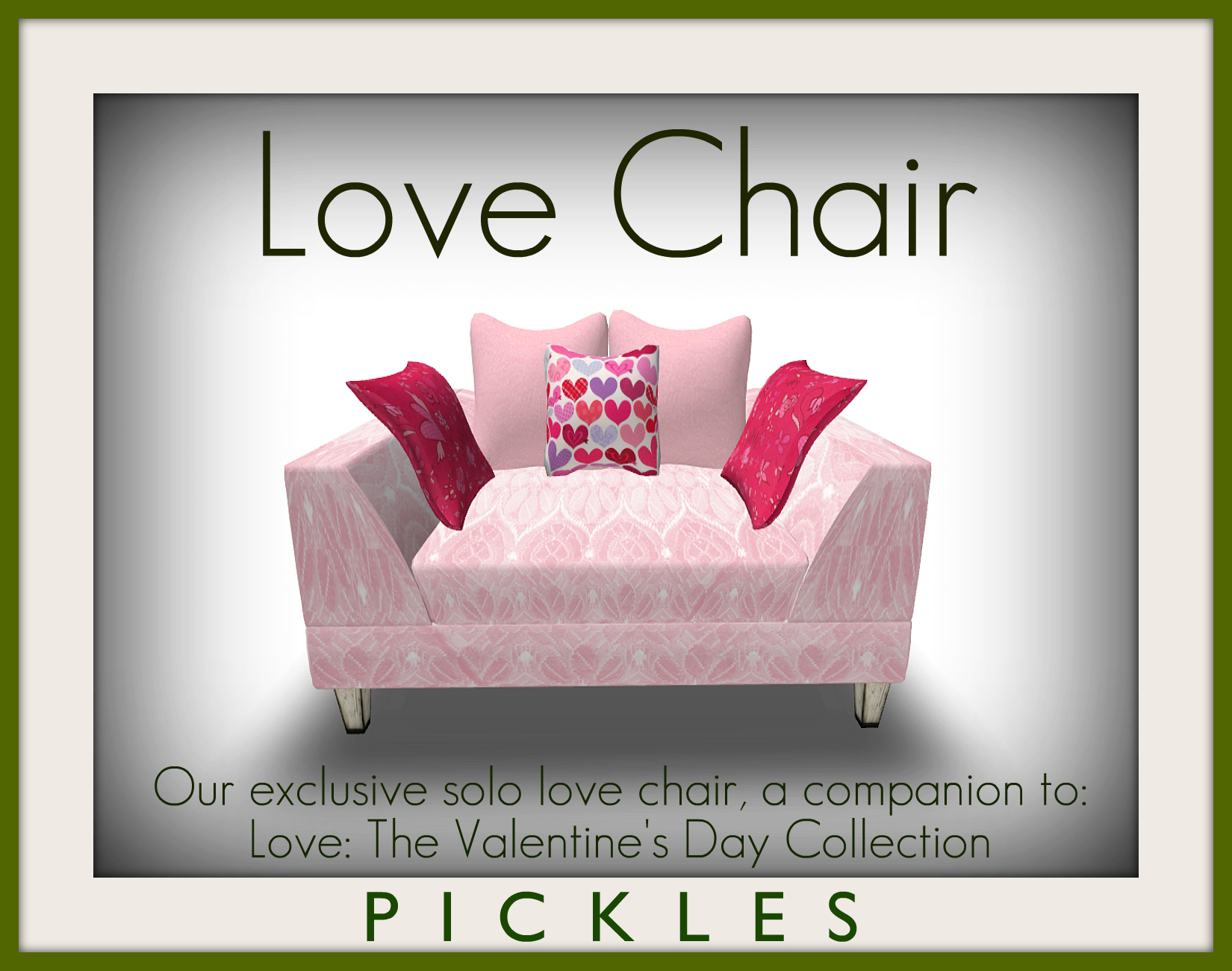 the love chair stacking chairs ireland pickles blog