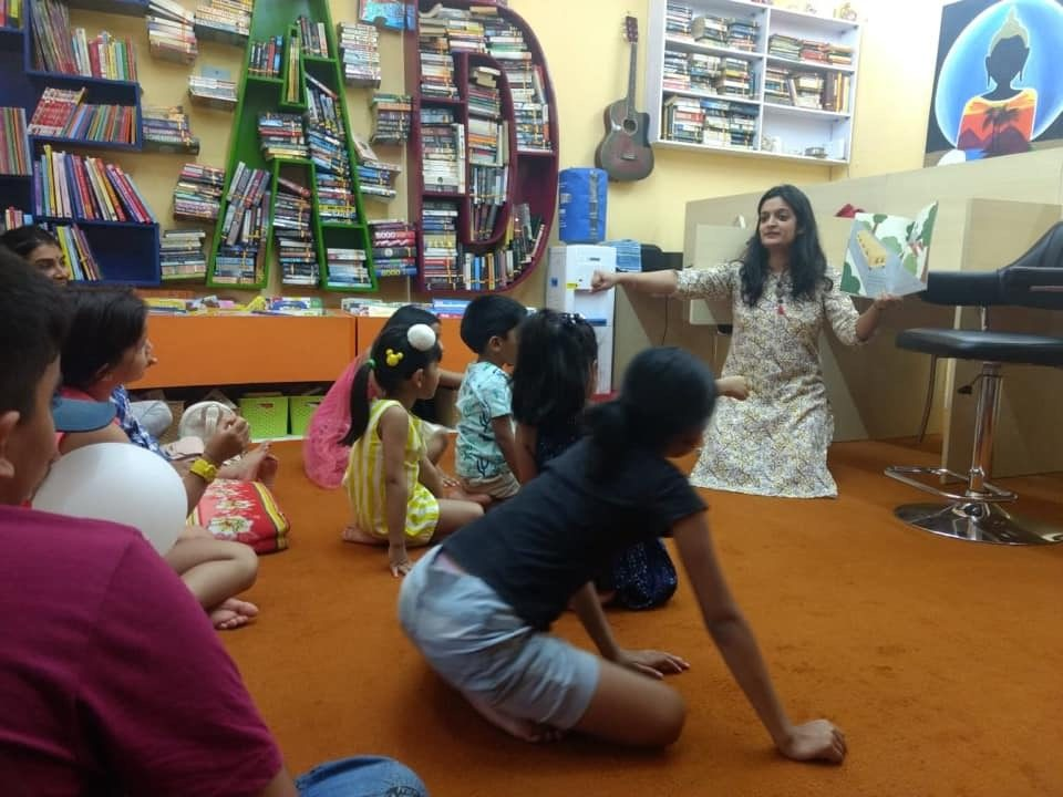 GIGGI AND DADDY launch with Shivani Kanodia at Pikk a Book Library