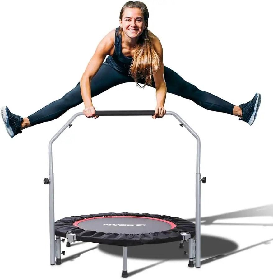 BCAN 40-Inch Fitness Mini-Trampoline Rebounder