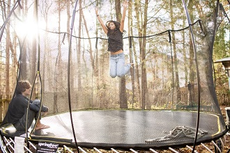 Best Outdoor Trampolines For Adults & Gymnasts